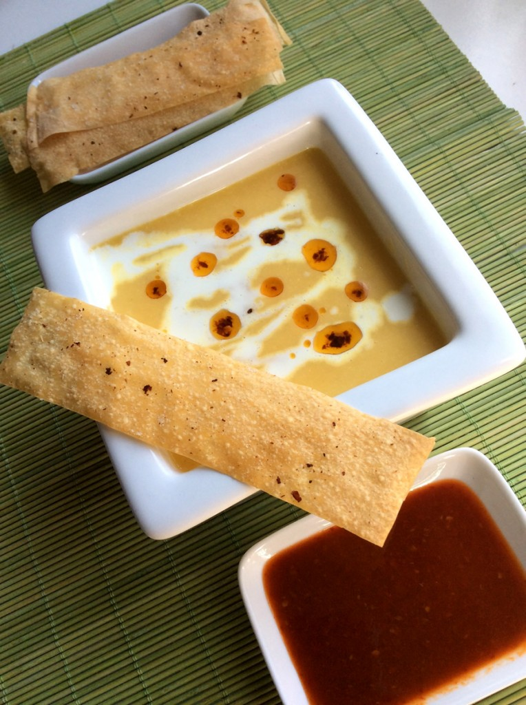 Currys sütőtök krémleves