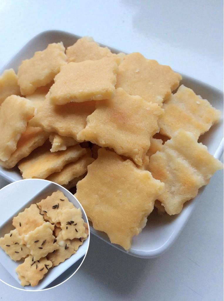 Ropogós, omlós fetás keksz (gluténmentes)
