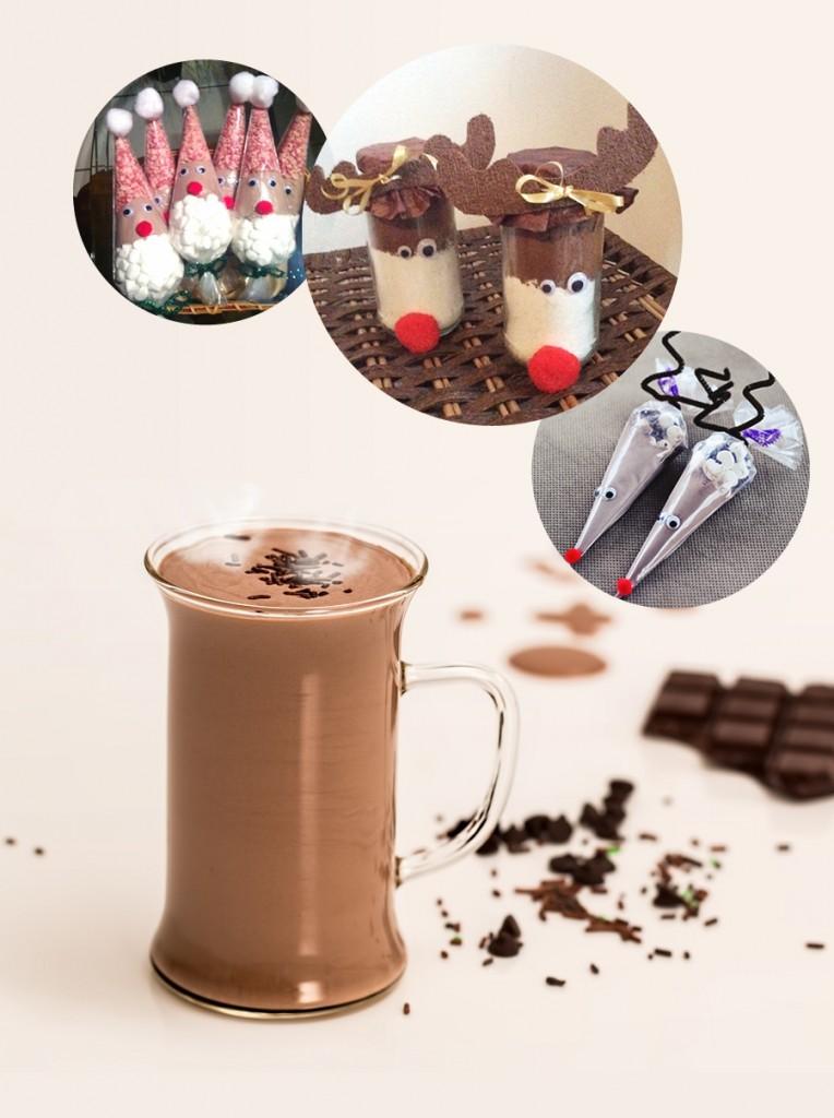 Házi forró csoki por ajándékba